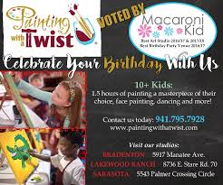 deal for bradenton macaroni kid subscribers if you have 12 kids for the party we will give you a 25 gift certificate towards mom and dad night out