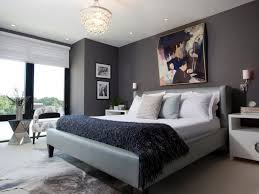 bedroom accent wall. Master Bedroom Accent Wall With Grey Walls