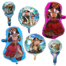 <b>1pc</b> hot <b>movie Moana</b> Foil Balloons Inflatable classic toys <b>Sea</b> ...