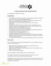 Cook Resume Examples Beauteous Chef Resume Sample Elegant Professional Banker Resume