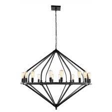 elegant lighting illumina bronze 16 light chandelier