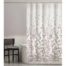 Beige shower curtains Cream Colored Sylviascjpg Bedbathhomecom Maytex Sylvia Leaf Fabric Shower Curtain