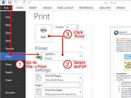 printing text free pdf printer print to pdf with dopdf