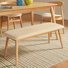 Norwegian Danish Modern Tapered Upholstered Dining Bench iNSPIRE Q Modern -  Free Shipping Today - Overstock.com - 18681989