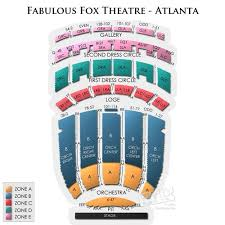Fox Theatre Atlanta Seating Chart Date Night Theater