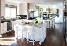 Two Kitchen Islands