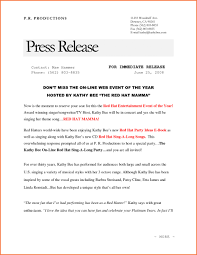 Sample Press Release Template Format In Hindi Apa Example How To