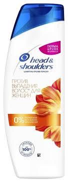 Head & Shoulders <b>шампунь против</b> перхоти <b>Против выпадения</b> ...