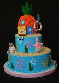 Spongebob Party Cake Tips Kids Party Ideas Themes Decorations