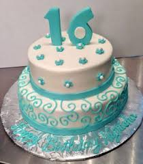 cakes for girls 16th birthday. Perfect For 16thbirthday2tiercakegirlspearls036 In Cakes For Girls 16th Birthday A