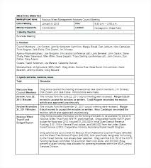 Word Template Minutes Word Template Meeting Minutes Sociallawbook Co