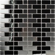 tst stainless steel mosaic tile silver mirrored tiles stainless steel backsplash decorative wall tiles art