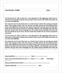 Police Reports Examples Sample Police Report Venturecrapital Us