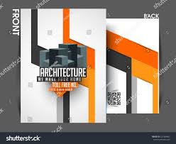 Architecture Brochure Template Vector Architecture Front Back Flyer Template Stock Vector 24 22