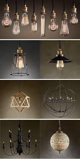 Restoration Hardware Lighting top pic - make chandeliers like this. have  bulbs, get multi pendant bulb kit from online world market