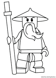 Lego Ninjago Pictures To Color