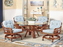 dining room dining chairs on casters elegant cute remarkable oak dining chairs with casters great