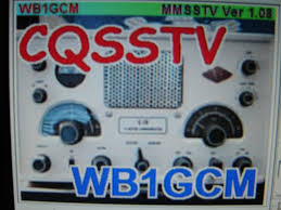 Amateur radio slow scan tv