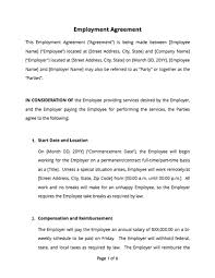 Permalink to Agreement Between Company And Employee / Free 3 Salesperson Agreement Contract Forms In Pdf Ms Word : The employee agrees that he will at all times faithfully, industriously, and to the best of his skill, ability, experience and talents, perform all it is understood and agreed that the first ninety days of employment shall constitute a probationary period during which period the employer may, in.