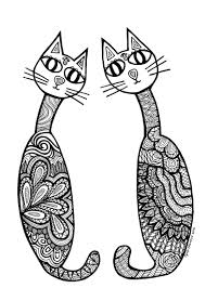 Small Picture Cats Coloring Pages Cats Coloring Pages Free Coloring Pages