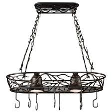 Lighting twigs Philippine Sale Kenroy Home Twigs 58 In 2light Bronze Pot Rack The Home Depot Kenroy Home Twigs 58 In 2light Bronze Pot Rack90308brz The Home