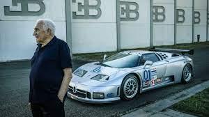 In 1991, romano artioli presented the bugatti eb110 in paris, together with the actor alain delon. Exclusive Former Bugatti Boss Talks Eb110 And Possible Successor
