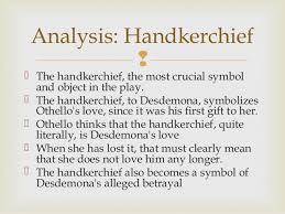 othello act iii notes analysis handkerchief