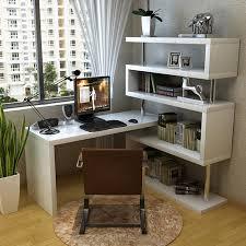 piano paint multifunction rotary bedroom corner desk combination bookcase bookcase desk computer desk desk