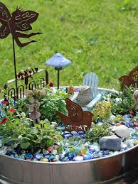 Small Picture Fairy Garden Designs Garden Design Ideas