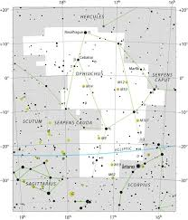 Star Chart For November Sun Enters Ophiuchus On November 30 Astronomy Essentials