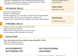 Resume A Good Resume Arresting A Good Resume Malaysia Ideal How