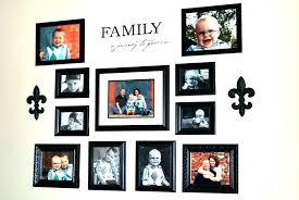 family picture frame ideas modern interior design
