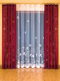 Maroon Curtains For Living Room Living Room Amazing Maroon And Cream Windows Curtain Ideas For