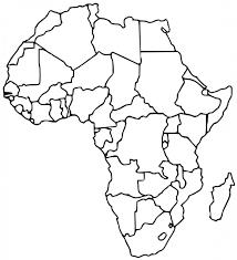 Empty Maps Of Africa Jose Co Throughout Unlabeled Within Empty Map