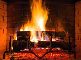 clean fireplace chimney logs brick safely service