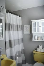 grey white yellow bathroom grey white striped shower curtain small yellow and bathroom yellow and gray