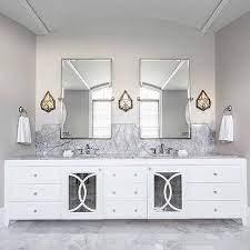Hollywood Regency Bathroom With Acrylic Stool Hollywood Regency Bathroom