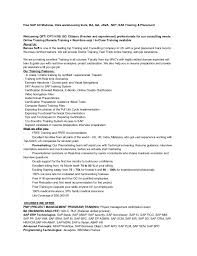 Business Objects Resume Sample 1 Consultant Sainde Org Business Object  Resume