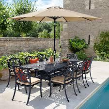 cast aluminium metal garden furniture