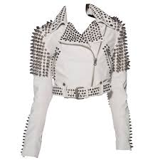 burberry brit studded leather jacket for