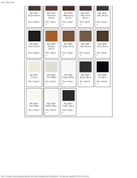 Ral Colour Chart Sml Marine Paints