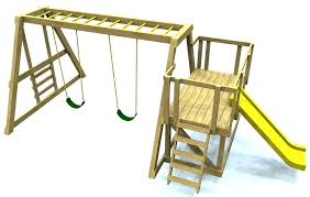 wooden swing set with monkey bars free plans plan ladders and slide grandview twist
