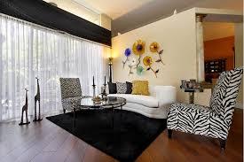 Printed Chairs Living Room Interesting Cheetah Print Living Room Decor Fascinating Home