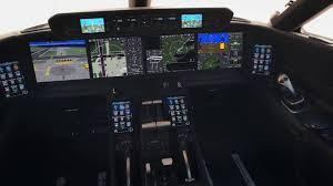 Gulfstream Aerospace Technology Symmetry Flight Deck