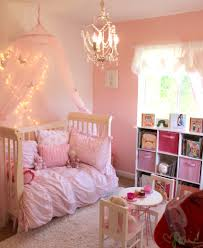 Princess Girls Bedroom Comfy Space Pink Accents Pink Accent Walls And Little Princess