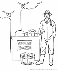 Fall Coloring Pages Fall Apples For Sale Coloring Page Sheets Of