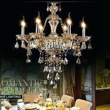 chandelier for restaurant luxury cognac color crystal lamp with regard to modern residence fake cand chandelier for restaurant