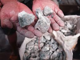 raw quartz ore straight from the mine