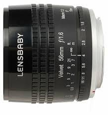 <b>Объектив Lensbaby Velvet 56mm</b> Sony E — купить по выгодной ...