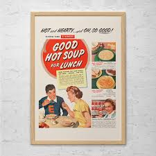 Campbell Kitchen Recipe Campbell Soup Ad Etsy